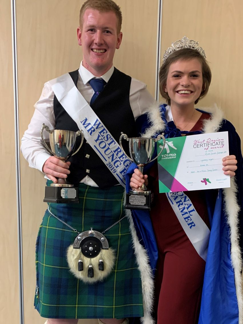 Ross and Lyndsay Are Crowned Mr and Miss