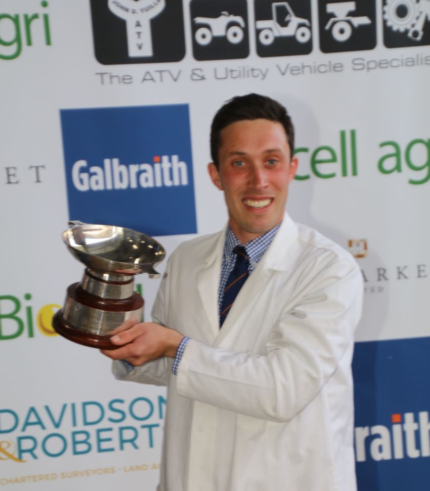 Carluke YFC's Scott Bourman Lifts 50th Stockman of The Year Title