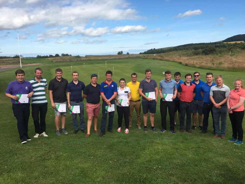 Kinross Tee to Victory at Elmwood in The East Golf