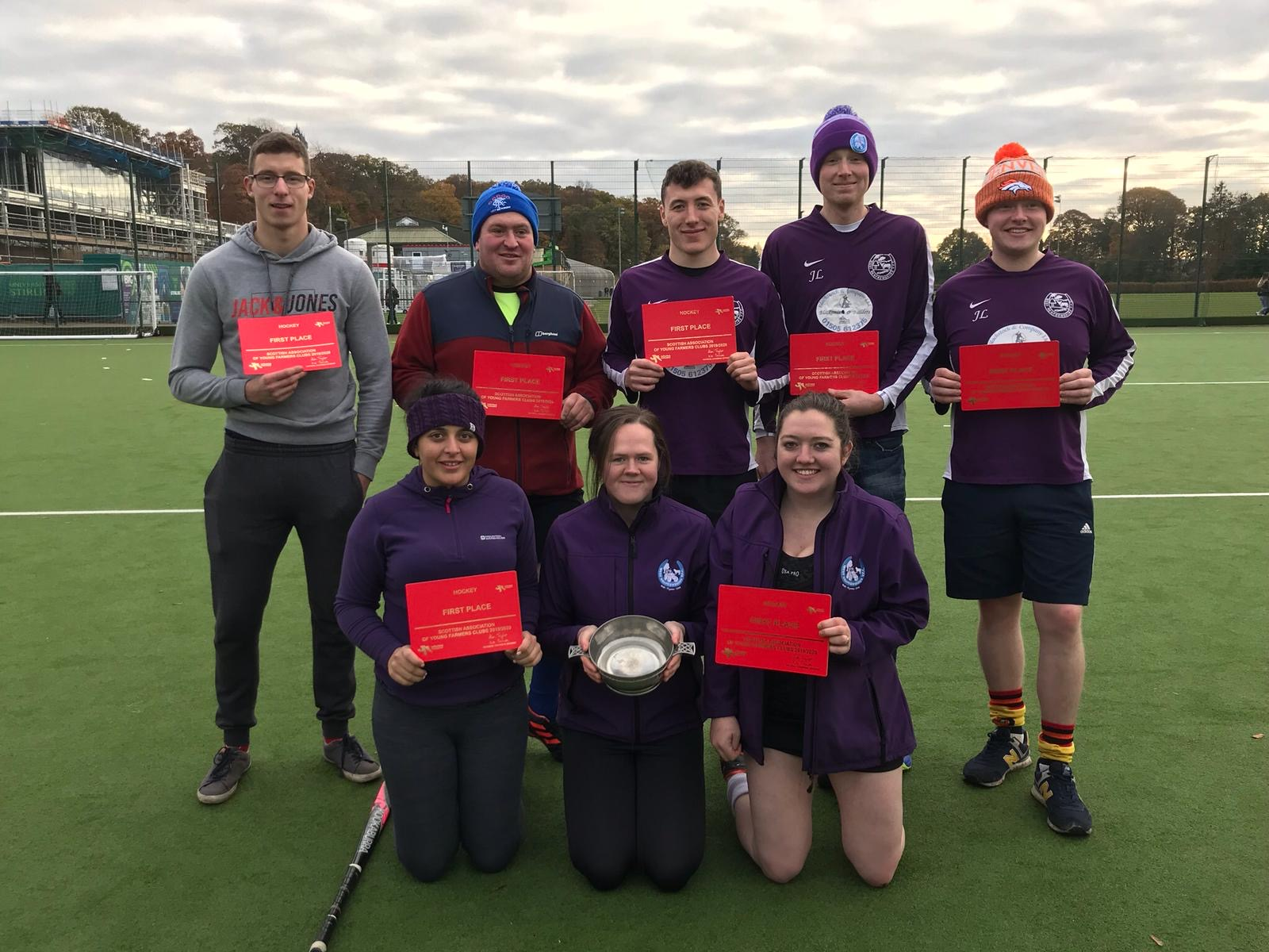 West Renfrewshire YFC Win National Hockey