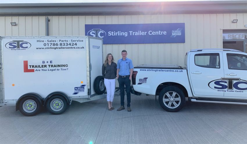 We Shake Hands with Stirling Trailer Centre for Member Benefits